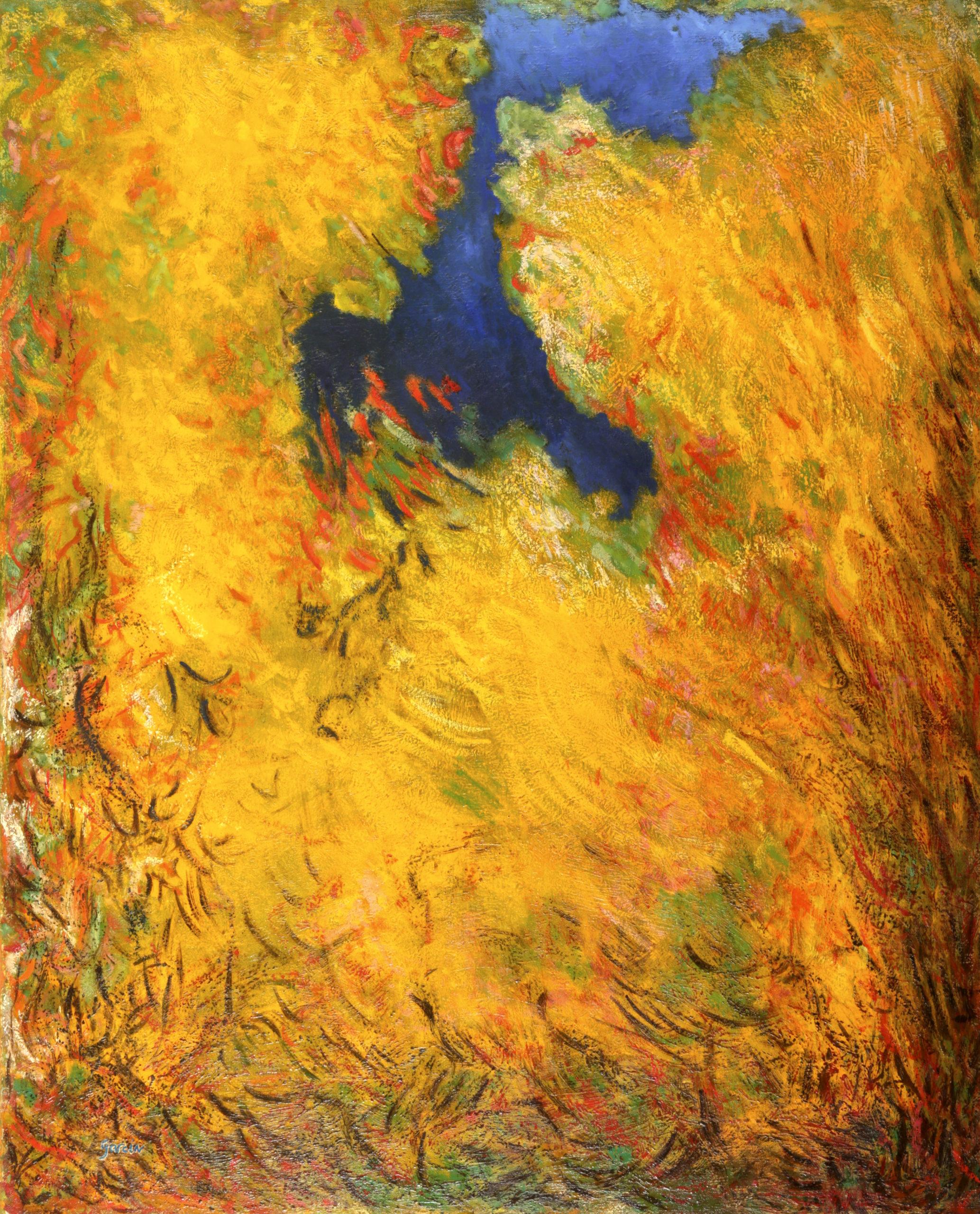 ETE 2, 1994 huile sur toile 100 X 81 cm